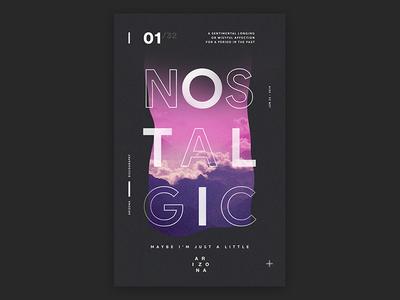 Nostalgic Poster