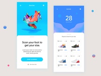 Shoe Size App