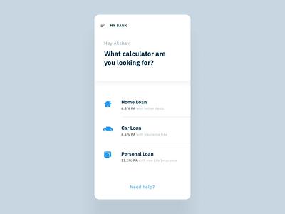 Popshot | Banking App Concept ui  ux popshot loan app bank app ux design uidesign