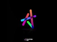 Knowledgehut logo animation illustration art logo ui design design branding illustration animation visual design logodesigns logodesign logos