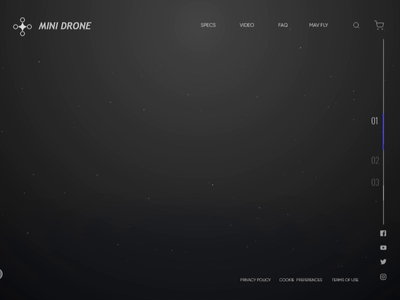 Website Interface Design For Drones | Popshot by Lollypop userinterface user experience uxui design ui design technology design visual design animation interfacedesign interaction design drone illustration