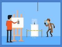 Illustration - Designer's Life