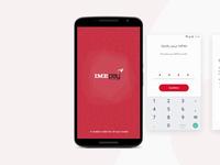 Login Screens-  Fintech App