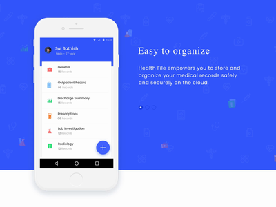 Healthtech App- Splash Screens