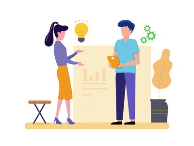 UX Research Illustration gif animation illustration uxresearch