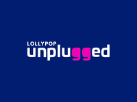 Lollypop Unplugged Logo Animation