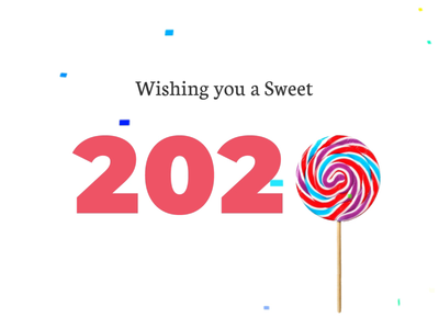 Happy New Year 2020 | Animation illustration animation 2020 happy new year
