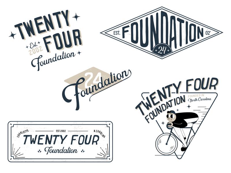 24 Foundation Design Sheet bike cycling logo design minimal flat graphic design icon visual design ui illustration vector typography logo branding design