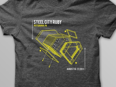 Steel City Ruby Shirt 2013 shirt ruby steel city pittsburgh exploded