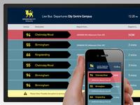 Live buses data