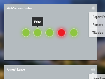 Minimal Widget Design ui minimal widget metro