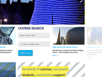 Carousel on homepage