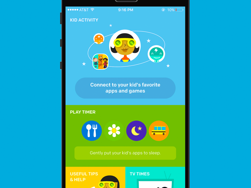 PBS KIDS Super Vision App product design ux design ios mobile app