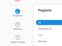 Nomadic Admin Icons