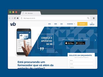Site VB Serviços