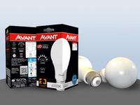 Embalagem Lâmpada LED AVANT