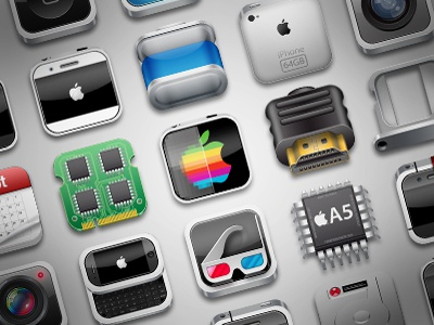 Iphone 5 icons  infographic icon iphone 5 apple a5 gang nowhereelse else nowhere