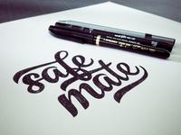 Safe Mate - Lettering