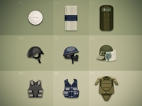 Defense items