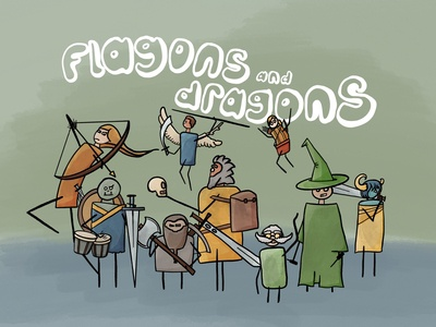 Flagons & Dragons