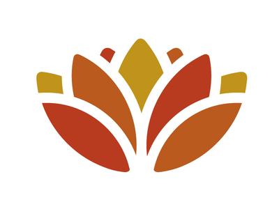 lotus flower logo by eric karbeling dribbble rh dribbble com