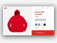 Supreme UI Design