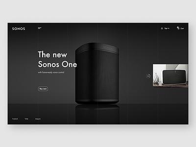 Sonos ux ui uiux webdesign