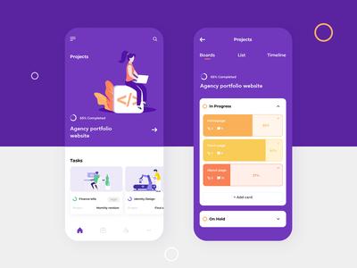 Basecampe Mobile app