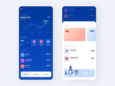 Paypal app apps application mobie illustration interaction uiux ui