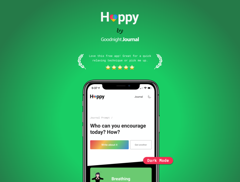 Happy to make you happy android ios minimal web design app mentalhealth