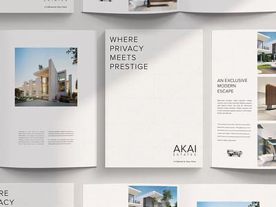 Real Estate Branding naming design print branding real estate