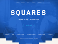 Squares conference by circles company