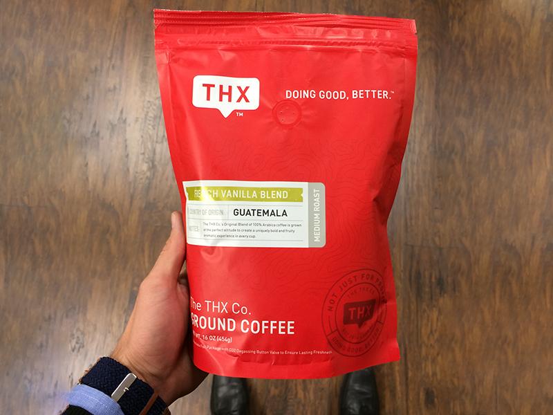 Thx Coffee Packaging package design coffee red