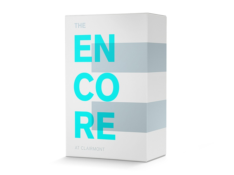 Encore real estate logo packaging