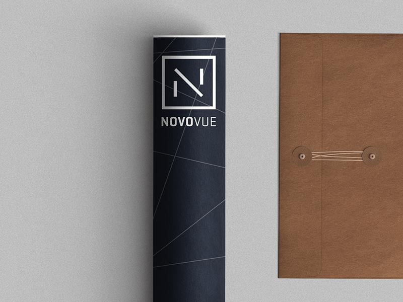 Novo Vue 2 v n architecture logo