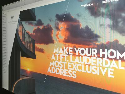 W Fort Lauderdale sketch app website luxury real estate