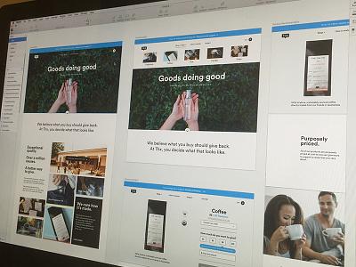 Thx Website Updates ecommerce website cause nonprofit coffee candles fragrance tea social enterprise