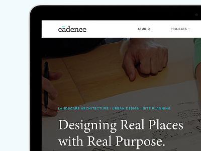 Cadence architecture landscape website