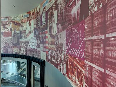 Bacardi Bar Wrap wall wrap bacardi vintage wrap print bar