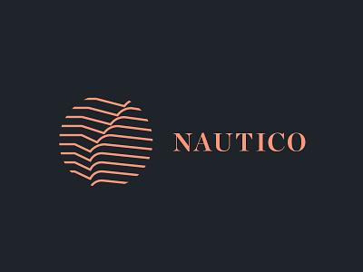 Nautico Residences water ripple residential logo