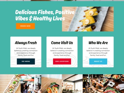 Sushi Maki Website restaurant website miami maki sushi