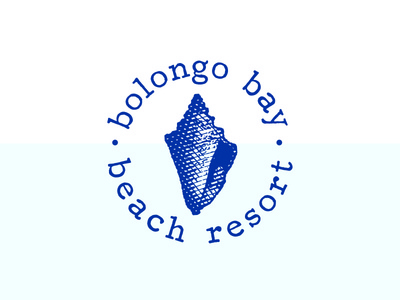 Bolongo Bay Beach Resort shell virgin islands st thomas logo hotel