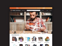 Hobby Warehouse Ecommerce Website Design