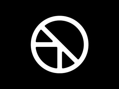 Circle + Semaphore minimal symbol ogc line apparel semaphore circle origin branding mark logo