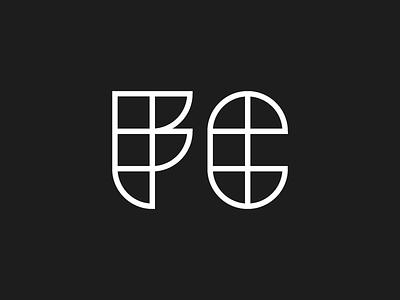 F C mark far corner monogram geometric club football soccer