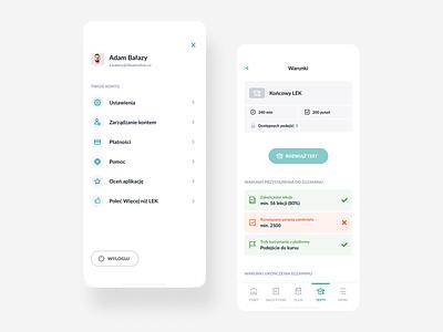 Wiecej niz LEK lek wiecejnizlek app mobile education edtech bethink ideamotive ios android casestudy inspiration productdesign uiux creative