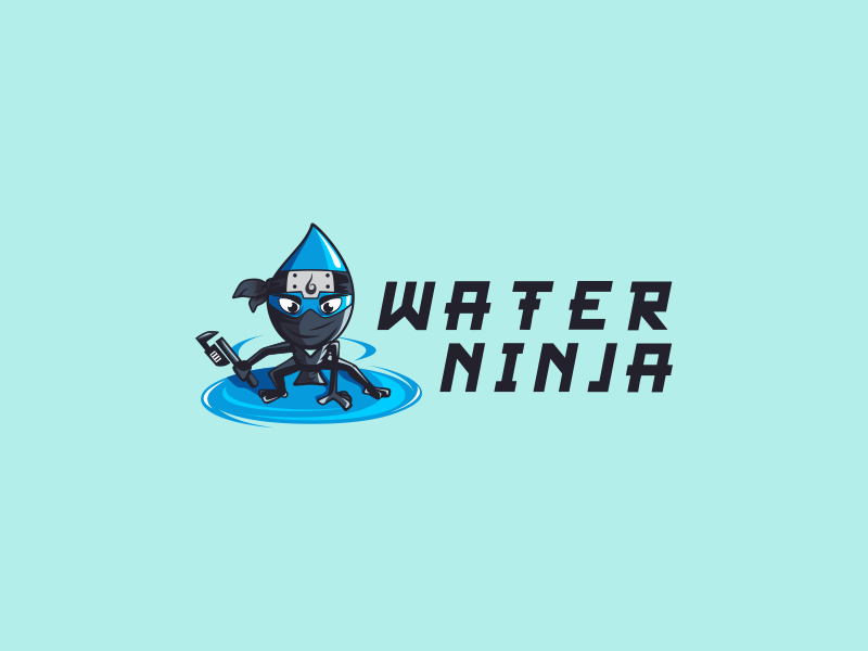logo water ninja