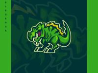dinosaur logo concept !!!