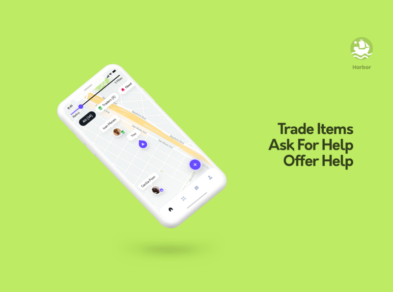 Harbor App - Offer, Ask for Help and Trade Items