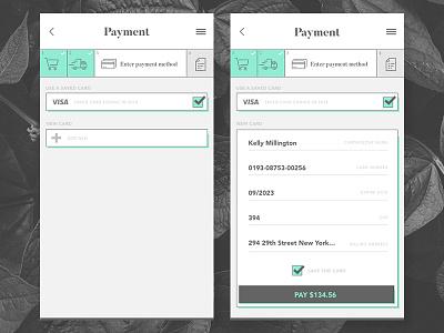 Daily UI 002 - Payment graphic design design ui  ux dailui daily ui daily ui 002